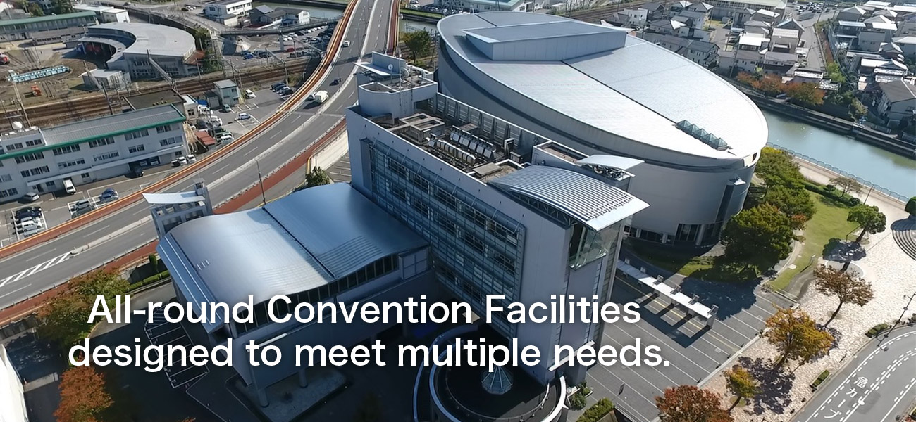 All-round Convention Facilities designed to meet multiple needs.